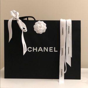 Chanel shopping bag and Ribbon